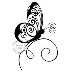 papillon pour dessin sur le ventre