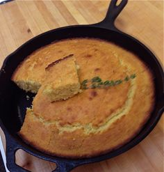 Gluten-Free Cornbread with Honey and Thyme via @Jackie Ourman