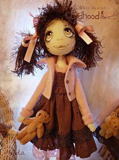 OOAK Art Doll Urchin Hilda