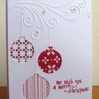 Pinspiration:  Ornament Card