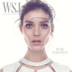 Kati Nescher photographed by Mikael Jansson for WSJ Magazine. Hair by Anthony Turner. Makeup by Hannah Murray.