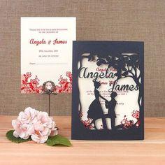 Convites de casamento - inspirações Pinterest