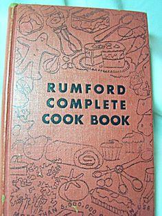 Cookbook, Rumford Complete