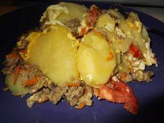 Musca de cartofi Carne, Eggs, Breakfast, Morning Coffee, Egg, Egg As Food