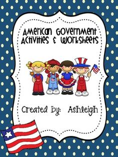 American Government Activities and Worksheets ($)