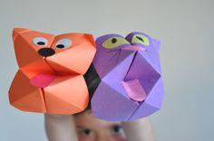 Mamás Todoterreno: Marionetas de papel