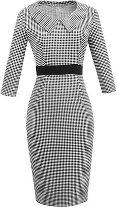 Cute Office Outfits, Classy Outfits, Elegant Outfit, Classy Dress, Work Dresses For Women, Clothes For Women, Dress Outfits, Fashion Outfits, Latest African Fashion Dresses