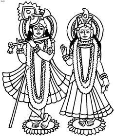 goddess lakshmi coloring page radha and krishna coloring page goddess lakshmi coloring book