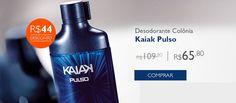 Vibrante, Kaiak Pulso combina ervas com notas de lima. Uma fragrância que move os homens e exala adrenalina. Ideal para homens que não gostam de ficar parados.