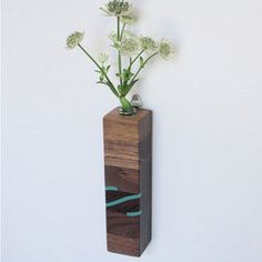 Rect Vase Petite Walnut Teal now featured on Fab.
