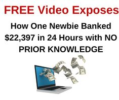 FREE Video Course Exposes How One Newbie Earned $18,900 in 24 Hours   #howtomakemoney #makethatmoney #workathome #workfromhome #homebusiness #internetmarketing #onlinejobs #coronawirus #lockdown #stayhome #pandemic #quaratine #facemask #ppe #KN95 #N95 #Covid19 #stayathome Online Cash, Online Jobs, Make Money Online, How To Make Money, Internet Marketing Course, Online Marketing, Home Based Business, Seo, Improve Yourself