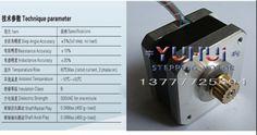 42 stepper motor / 42BYGHM28 0.9 degrees two-phase stepper motor / New
