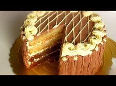 "ТОРТ ""Золотой ключик"" /Домашний простой рецепт - YouTube Dessert Bread, Tiramisu, French Toast, Cheesecake, Food And Drink, Cupcakes, Sweets, Homemade, Dishes"