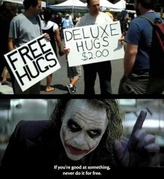 /r/Memes the original since 2008 I've been told I give amazing hugs. guess who's opening up shop Crazy Funny Memes, Really Funny Memes, Funny Relatable Memes, Haha Funny, Funny Posts, Funny Shit, Funny Cute, Hilarious, Funny Stuff