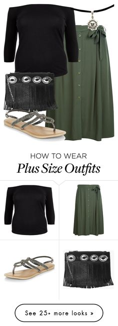 """""""perrie plus size insp"""" by bekahtee on Polyvore featuring New Look and Boohoo"""