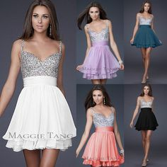 Cute dresses! Would make great bridesmaid dresses or prom dresses...