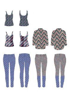Fashion Sketchbook - fashion design drawings; graduate fashion portfolio // Beryl Otieno