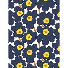 Buy Marimekko Pieni Unikko Wallpaper Online at johnlewis.com