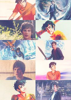 Percy Jackson. Logan Lerman is soooo Percy...You can just see the sass.