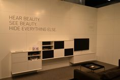 Clic Furniture Hear Beauty See Hide Everything Else Cologne