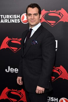 """Henry Cavill Photos - Actor Henry Cavill attends the launch of Bai Superteas at the """"Batman v Superman: Dawn of Justice"""" premiere on March 20, 2016 in New York City. - The Launch of Bai Superteas at the 'Batman v Superman' Premiere"""