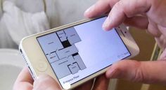 RoomScan is an app for iOS which draws floor plans in minutes – touching your device to a wall is the only input required.