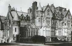 Craigends House, UK. 1857 by David Bryce. The house was demolished in 1971 to make way for a large housing development.