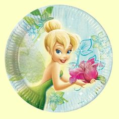 """IN PACK 18/"""" FOIL BALLOON CHRISTMAS XMAS HAPPY HOLIDAYS DISNEY TINKERBELL FAIRY"""