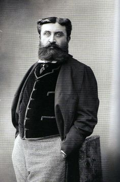 """A list of models for Proust characters.""""The Amazing Jupiter: Comte Henri Greffulhe."""" One of the models for the Duc de Guermantes.     Portrait Archaeology: The Week Of Proust!"""