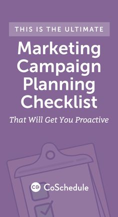 Download your free marketing campaign template kit to plan anything. http://coschedule.com/blog/marketing-campaign-planning/?utm_campaign=coschedule&utm_source=pinterest&utm_medium=CoSchedule&utm_content=This%20Is%20The%20Ultimate%20Marketing%20Campaign%20Planning%20Checklist%20That%20Will%20Get%20You%20Proactive