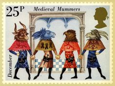 Great Britain 1981 Folklore Europa Medieval Mummers Used 2 SG 1146 stamp Listing in the Festivals & Seasonal,Thematic,Stamps Category on eBid United Kingdom English Christmas Traditions, Renaissance, Old English, Christmas Carol, Christmas Ideas, Stamp Collecting, Mail Art, Postage Stamps, Uk Stamps