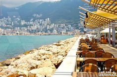 How about a cup of coffee in Jounieh? شو رأيكن بفنجان قهوة عالبحر ب جونيه؟ Photo by Dave McVicar