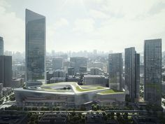 Heartland 66 | Aedas | Architecture | Mixed-use | Wuhan, PRC