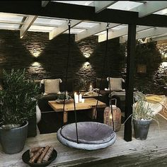 Patio Patio The post Patio appeared first on Terrasse ideen. Outdoor Balcony, Outdoor Rooms, Outdoor Gardens, Outdoor Decor, Outdoor Lounge, Backyard Patio Designs, Backyard Landscaping, Landscaping Ideas, Cozy Backyard