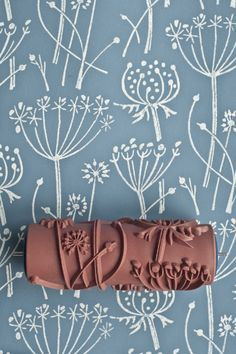 Tussock patterned paint roller by patternedpaintroller on Etsy, £20.00