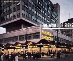 Marks and Spencer, Cross Street - the pre bomb building obv...