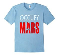 Rocketry , Occupy Mar-ss- DistresseD T SHIRT