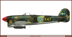 Ww2 Aircraft, Fighter Aircraft, Military Aircraft, Fighter Jets, Swedish Air Force, Hawker Typhoon, Hawker Hurricane, Rubber Raincoats, Ww2 Planes