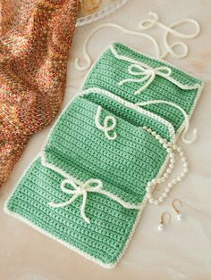 Jewelry Roll ♪ ♪ ... #inspiration_crochet #diy GB http://www.pinterest.com/gigibrazil/boards/