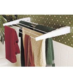 Household Essentials Telescoping Wall Mount DryerHousehold Essentials Telescoping Wall Mount Dryer,