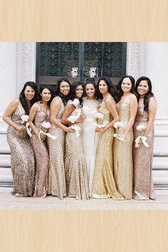e9950ab3d08 25 Best Bronze bridesmaid dresses images