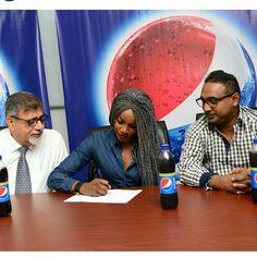 GOSSIP, GISTS, EVERYTHING UNLIMITED: Seyi Shay Now Pepsi Ambassador
