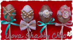 Tutorial: Decorazioni Pasquali Shabby Chic   DIY Easter Decoration