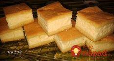 Maďarský tvarohový koláč – každé sústo ako pena: Cesto je ešte jemnejšie, ako linecké (a pracujete s ním hneď)! Kefir, Cornbread, Food And Drink, Cheese, Baking, Ethnic Recipes, Basket, Millet Bread, Bakken