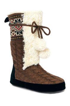 Jewel Slipper Boot on HauteLook