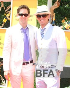 Thomas Pierce and Christopher Pierce attend the Veuve Clicquot Polo Classic in New York City