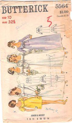 Butterick 5564 #sewingpatterns