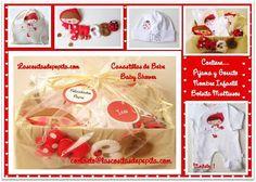 Las cositas de Pepita: Canastillas para Bebés con mucho Love