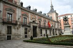 "1696.The Casa de la Villa (lterally ""Town Hall"") in Madrid (Spain) was the city hall until 2008. Building was designed in 1629 by Juan Gómez de Mora and built between 1644 and 1696. An alteration of north façade (Calle Mayor, street) between 1785 and 1789 was made by Juan de Villanueva. Extension between 1857 and 1859 by Juan José Sánchez Pescador.2011."