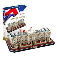 candice guo! new style cubicfun 3D puzzle paper model UK Buckingham palace MC162h kid-parents gift 1pc   #Affiliate